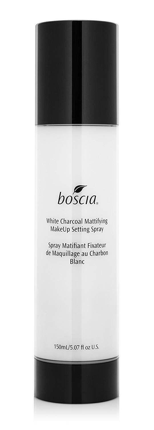 "<h3>Boscia White Charcoal Mattifying MakeUp Setting Spray</h3><p>If you really want to seal the deal on makeup that lasts all day, apply an oil-absorbing charcoal formula like this one before makeup to mattify and again after makeup as a security blanket.</p><br><br><strong>Boscia</strong> Boscia White Charcoal Mattifying MakeUp Setting Spray, $12, available at <a href=""https://www.amazon.co.uk/boscia-Charcoal-Mattifying-MakeUp-Setting/dp/B01AZZA21G/ref=asc_df_B01AZZA21G/?tag=googshopuk-21&linkCode=df0&hvadid=344396686276&hvpos=1o1&hvnetw=g&hvrand=8122185039013078503&hvpone=&hvptwo=&hvqmt=&hvdev=c&hvdvcmdl=&hvlocint=&hvlocphy=9045999&hvtargid=pla-810495207247&psc=1"" rel=""nofollow noopener"" target=""_blank"" data-ylk=""slk:Amazon"" class=""link rapid-noclick-resp"">Amazon</a>"