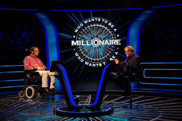 Andrew Townsley reached the jackpot question on <em>Who Wants To Be A Millionaire?</em> (Stellify Media/ITV)
