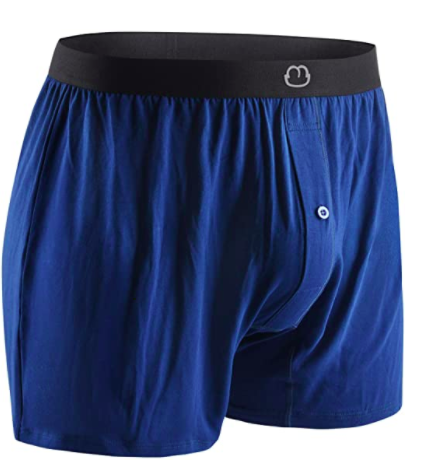 Bamboo Boxers Underwear Shorts - Soft Loose Comfortable Breathable, S$28.02. PHOTO: Amazon