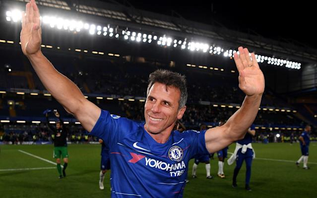 "Maurizio Sarri wants Gianfranco Zola to join him at Chelsea with the Italian growing in confidence that progress is being made on his bid to succeed Antonio Conte. Chelsea's managerial situation has been deadlocked since Napoli appointed Carlo Ancelotti, but did not release Sarri from his contract. Aurelio De Laurentiis, the Napoli president, has confirmed he is ready to negotiate Sarri's release, with Italian sources claiming his compensation demand has now dropped to £3.5 million. That may still be too much for Chelsea, who have been watching to see whether Sarri's lawyers can clinch his release from Napoli. But, while progress has been slow, there is now a feeling that a solution could be found. Reports from Italy claiming Sarri could be appointed as early as Monday are said to be premature, with Chelsea yet to formally sack head coach Conte. It had been hoped that a mutual split might be found that saw Conte move straight into another job, but that appears increasingly unlikely and the 48-year-old is more likely to take time out and collect his full £9m pay-off. Revealed: The inside story of how Antonio Conte's reign at Chelsea turned sour But, regardless of Conte, Sarri is beginning to prepare for a move to Stamford Bridge and has identified Zola as the perfect man to help him transition from Serie A to the Premier League. Zola played over 300 games for Chelsea and became a fans' favourite during his seven seasons at Stamford Bridge. He went on to coach West Ham United and Watford, but has been out of work since being sacked by Birmingham City in 2017. There would be space either within the coaching set up or in a technical capacity for Zola, with some of Conte's staff expected to follow him through the exit and with Chelsea having yet to replace former sporting director Michael Emenalo. With Sarri speaking only limited English and having never coached outside Italy, Zola could help him with the language and also with settling into Premier League football. On Sarri, De Laurentiis said: ""I am here to discuss and have already said that, if called, I would be reasonable."""