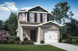 LGI Homes offers two-story floor plans located within walking distance from private clubhouse and lakefront amenities.
