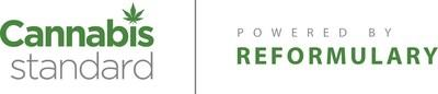 Cannabis Standard, powered by Reformulary Logo (CNW Group/Reformulary Group)