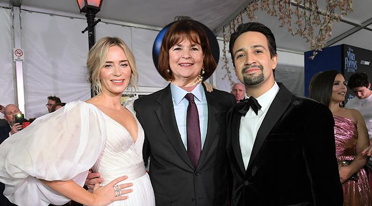 Lin Manuel Miranda Wedding.Mary Poppins Returns To The Hamptons In A New Episode Of Barefoot