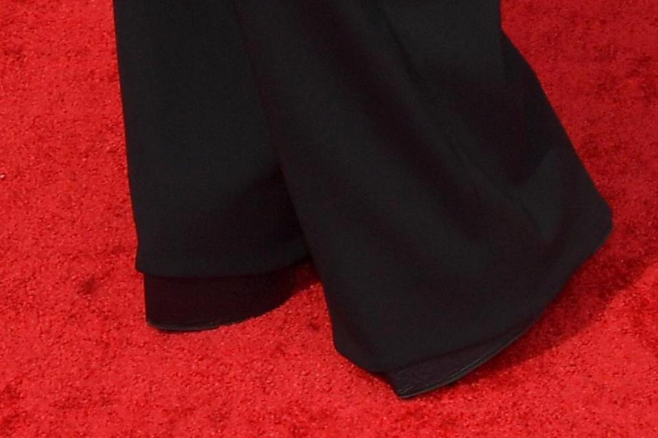 A closer view of Billy Porter's boots. - Credit: Michael Buckner for Variety