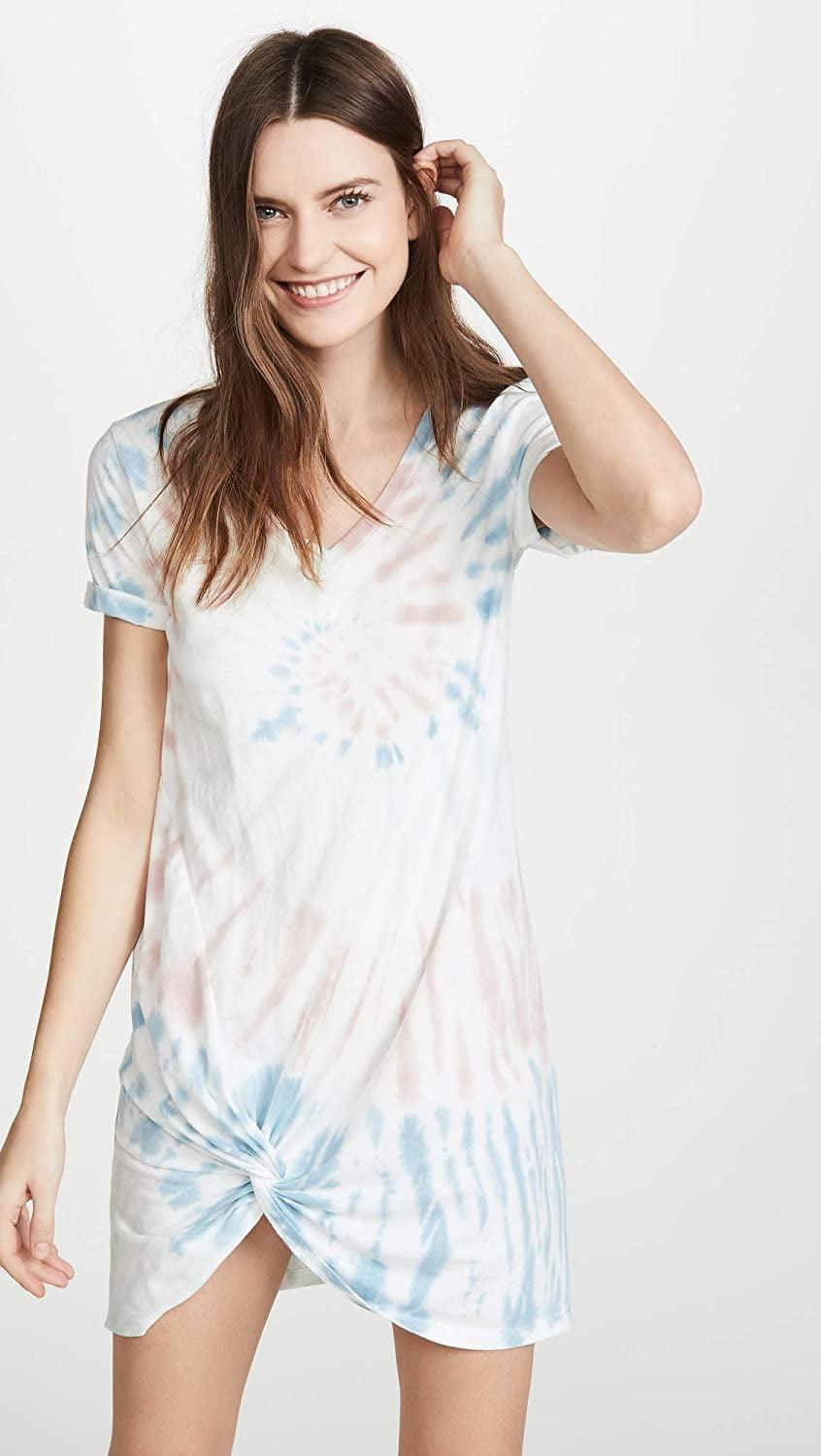 <p>Weekends are made to be spent in this comfy and stylish <span>Z Supply Tie Dye Side Knot Dress</span> ($48), especially if you're a fan of tie-dye. We love the relaxed silhouette and fun knot detail.</p>