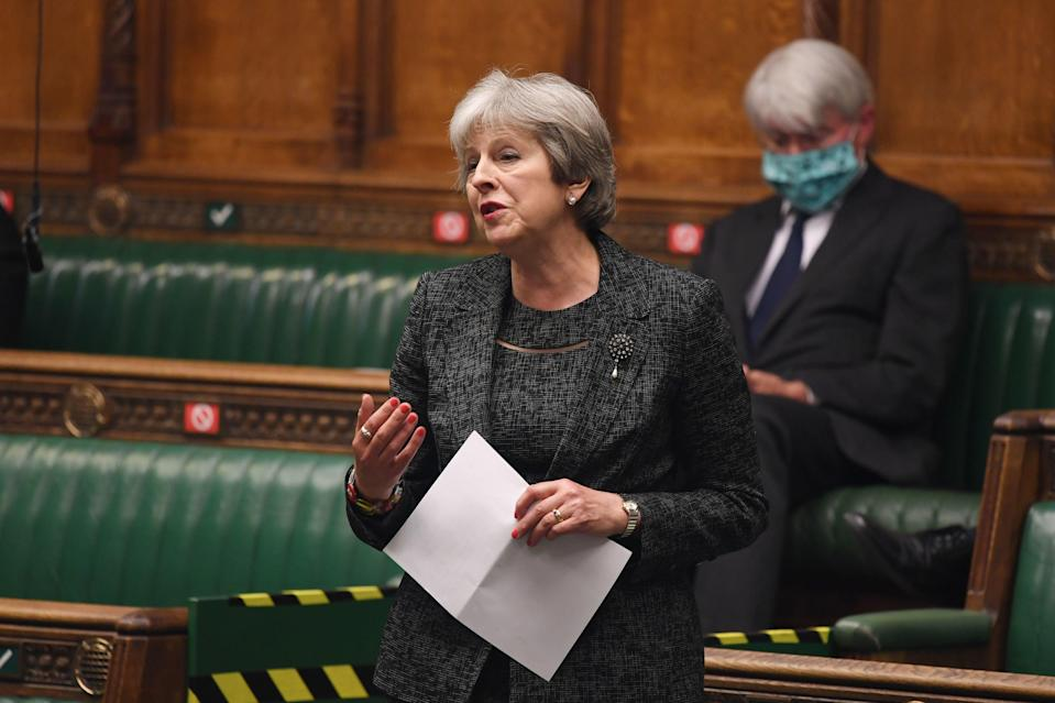 'In a premiership lasting a little under three years, the world watched May's painful political death many times over – yet she's been reborn' (UK Parliament/PA)