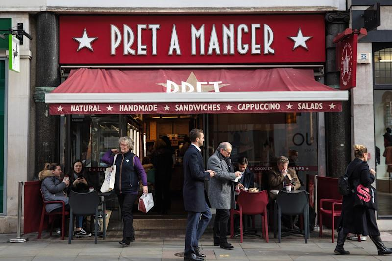 Sandwich chain Pret a Manger is facing a major staffing crisis because of Brexit: Jack Taylor/Getty Images