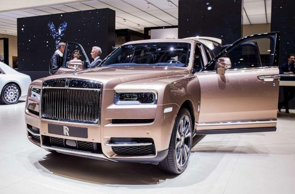 PHOTO: A Rolls-Royce Cullinan sits on display at the Geneva International Motor Show in Geneva, Switzerland, March 16, 2019. (Martyn Lucy/Getty Images)