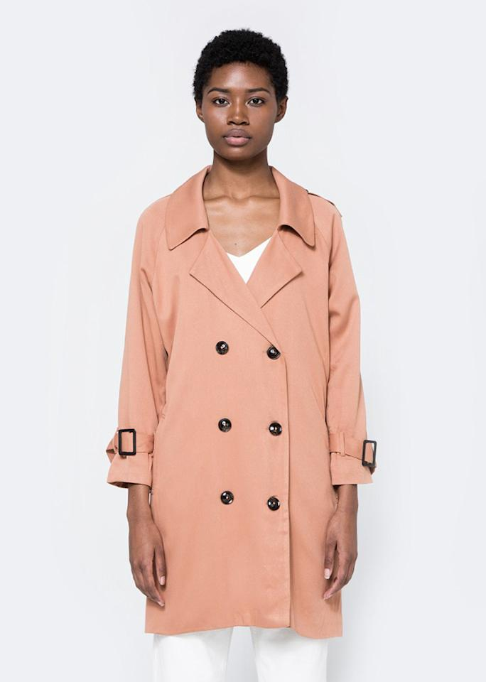 "Farrow Blaise Trench Coat, $134; at <a rel=""nofollow"" href=""http://needsupply.com/womens/clothing/outerwear/blaise-trench-coat.html"" rel="""">Need Supply Co.</a>"
