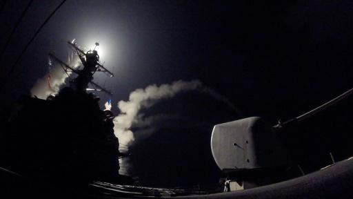 Defense stocks, oil boosted by US attacks on Syria