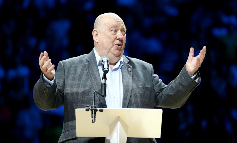 Mayor of Liverpool Joe Anderson during the Netball World Cup at the M&S Bank Arena, Liverpool. (Photo by Nigel French/PA Images via Getty Images)