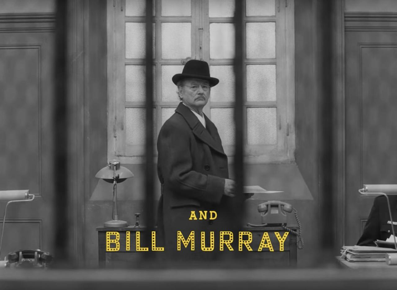 <p>Bill Murray as Arthur Howitzer Jr., the editor in chief of <em>The French Dispatch</em></p>