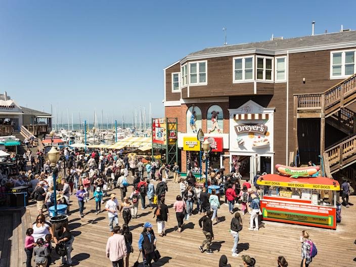 Pier 39 Fisherman's wharf San Francisco