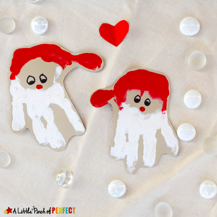 "<p>This simple handprint Santa project works for the littlest crafters: Parents can help paint their hands as well as fill in the details of the face.</p><p><em><a href=""https://alittlepinchofperfect.com/handprint-santa-an-adorable-christmas-craft-for-kids/"" rel=""nofollow noopener"" target=""_blank"" data-ylk=""slk:Get the tutorial at A Little Pinch of Perfect»"" class=""link rapid-noclick-resp"">Get the tutorial at A Little Pinch of Perfect»</a></em></p>"