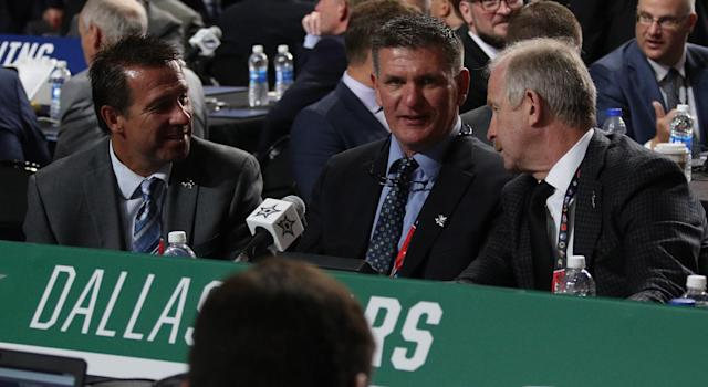 Good on Jim Nill and Jim Lites for getting ahead of things in Dallas. (Getty)