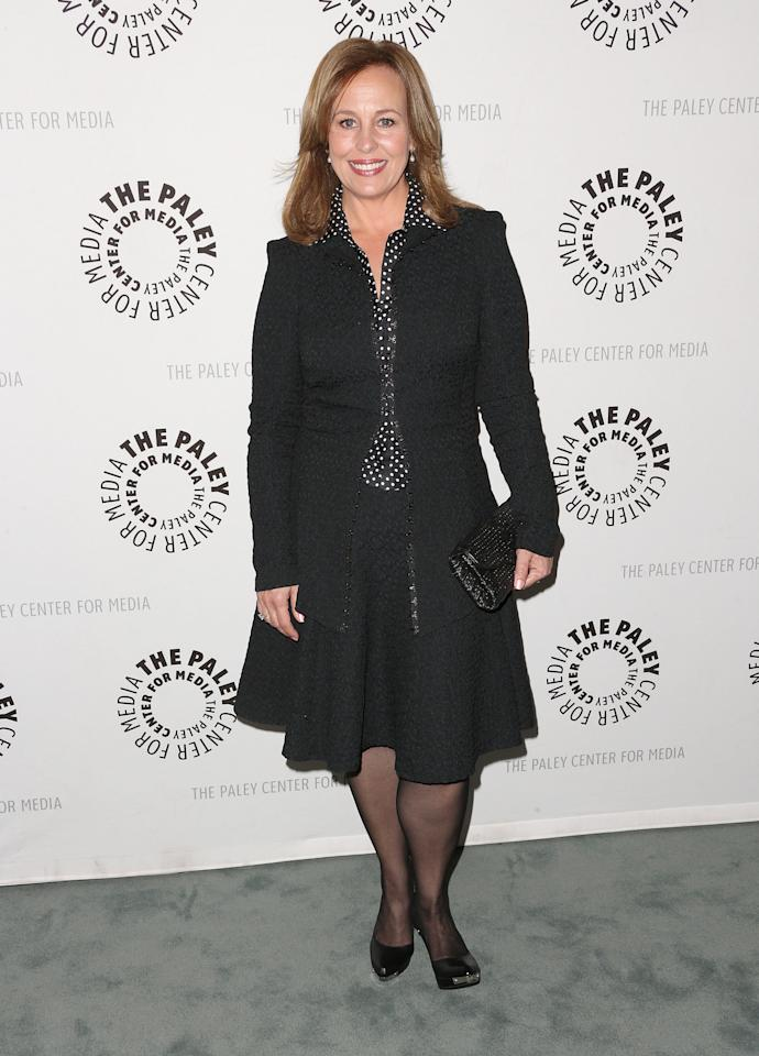"""BEVERLY HILLS, CA - APRIL 12: Actress Genie Francis attends The Paley Center for Media Presents """"General Hospital: Celebrating 50 years and Looking Forward"""" at The Paley Center for Media on April 12, 2013 in Beverly Hills, California.  (Photo by Frederick M. Brown/Getty Images)"""
