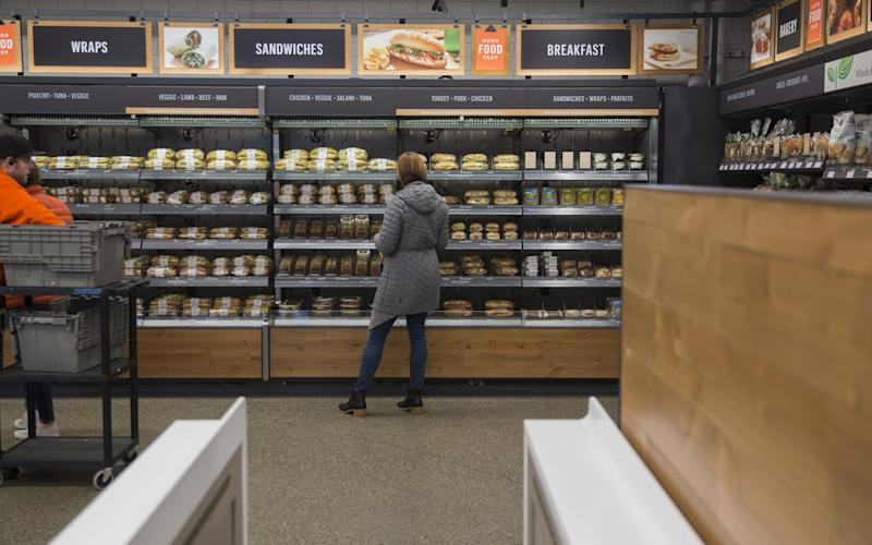 Inside the new Amazon Go cashierless convenience store - Bloomberg