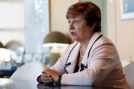 Georgieva closes in on top IMF job as no challengers seen: sources
