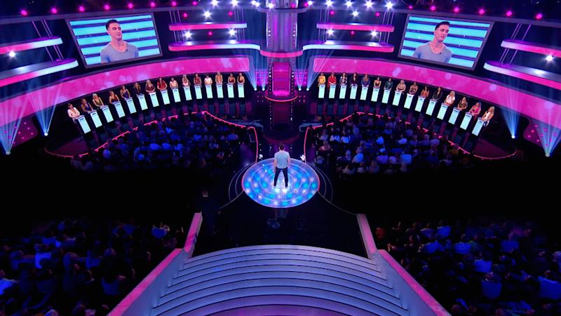 'Take Me Out' sees 30 women compete to catch the eye of one man (Thames / Fremantle)