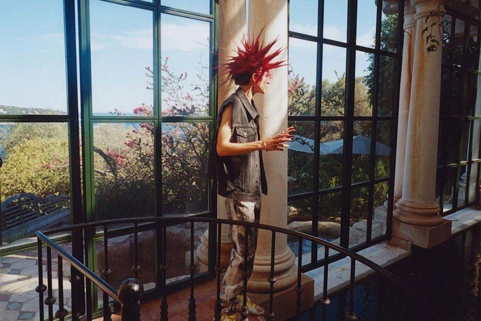 Timothee Chalet red mohawk