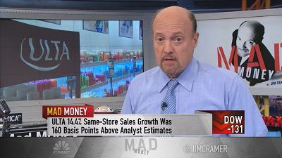 Jim Cramer gets to the bottom of why Ulta's stock has been falling, and whether it is a broken stock or a broken company.