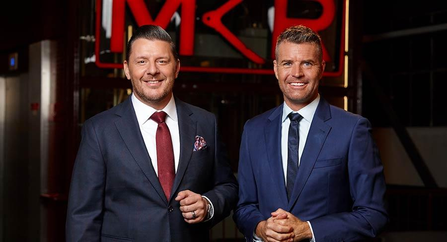 Pete Evans and Manu Feildel on My Kitchen Rules