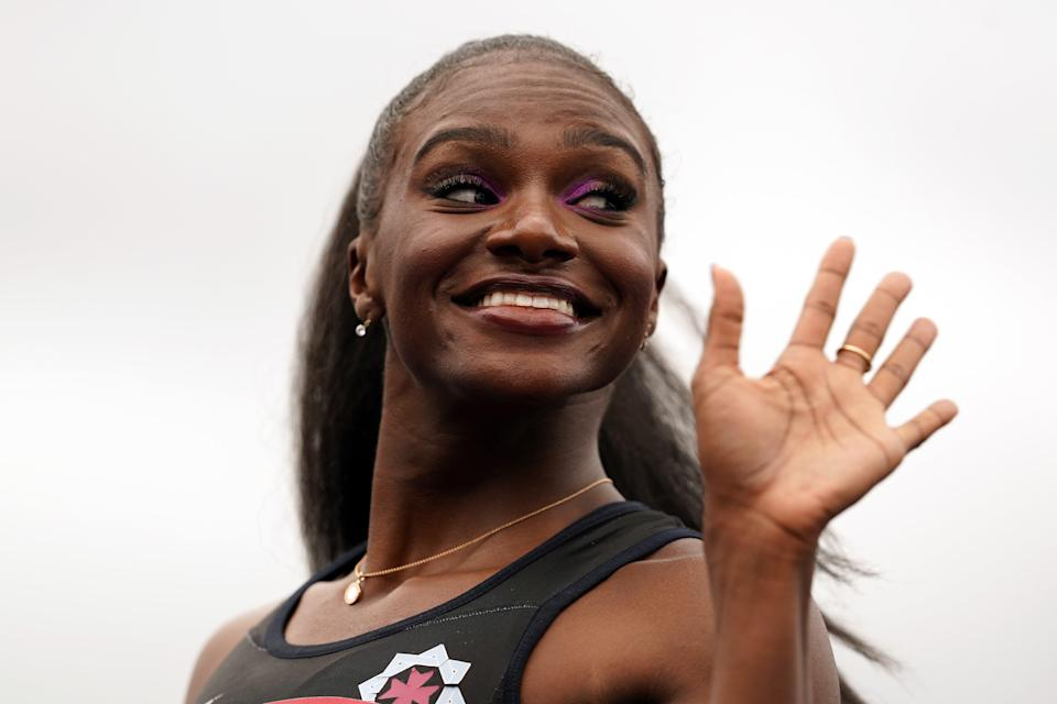 Dina Asher-Smith will get her Olympics campaign under way on Friday (Martin Rickett/PA) (PA Wire)