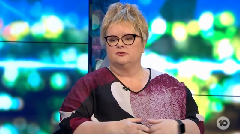 The Project co-host and Australian comedian Magda Szubanski defends Taylor Swift after Scoot Braun saga.