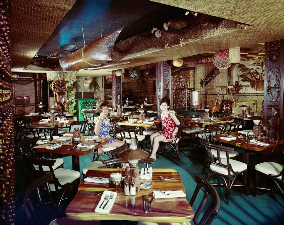 <p>Not only did these joints serve up Polynesian dishes featuring flavors like pineapple and teriyaki, but their over-the-top decor and festive Mai Tais offered an exotic experience you couldn't find anywhere else. The fad died off by the end of the decade, but piqued people's interests in other international cuisines.</p>