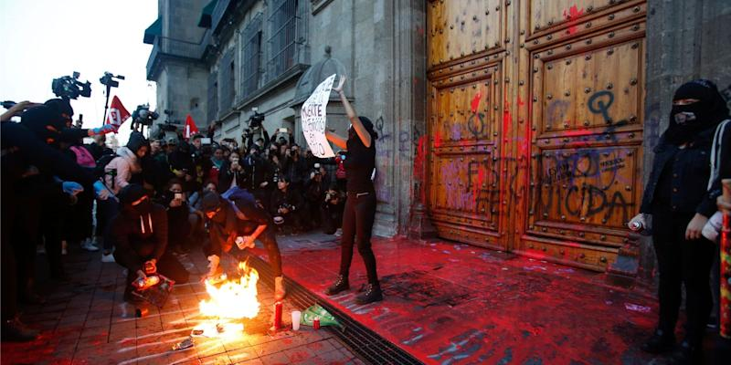 mexican protests