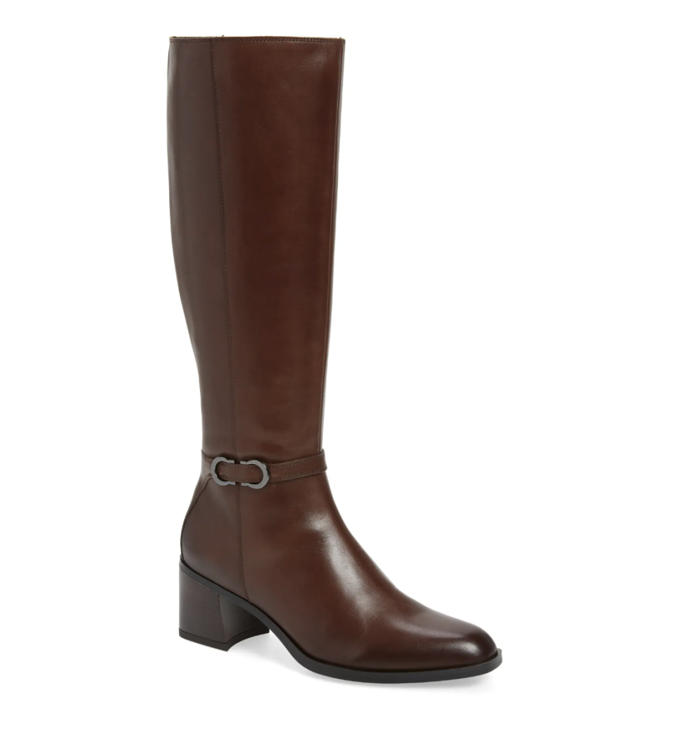Naturalizer Sterling Knee High Boot in Chocolate Leather (Photo via Nordstrom)