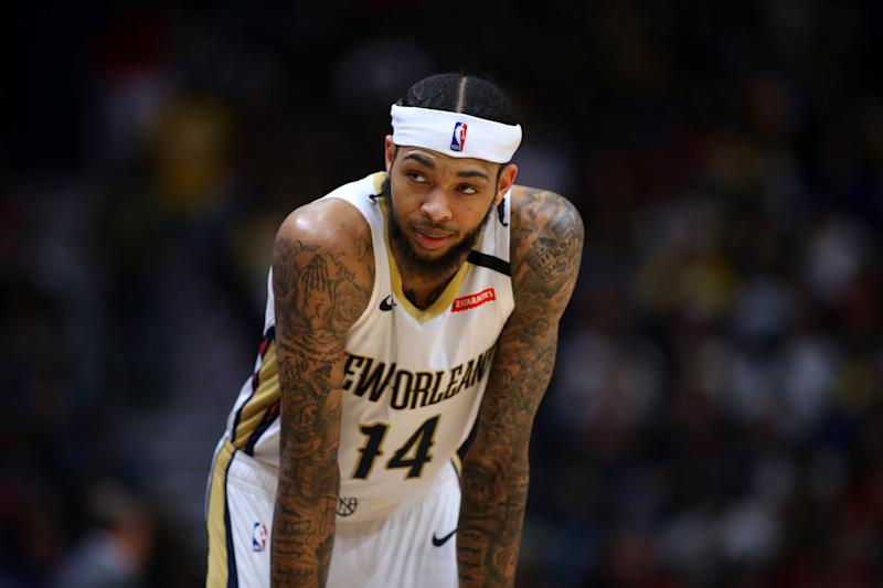 Brandon Ingram #14 of the New Orleans Pelicans