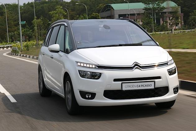 citroen c4 grand picasso review truth in art. Black Bedroom Furniture Sets. Home Design Ideas