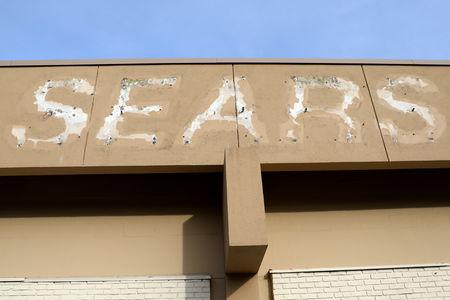 FILE PHOTO: Letters remain from a removed sign outside a Sears department store one day after it closed as part of multiple store closures by Sears Holdings Corp in the United States in Nanuet, New York, U.S., January 7, 2019. REUTERS/Mike Segar