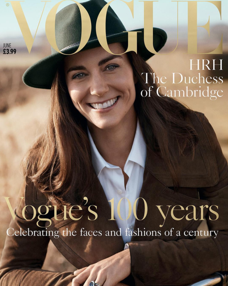 <p><i>British Vogue</i> had a great centenary year. Managing to get the Duchess to pose for her first magazine cover, the secret around the shoot was seen in the BBC documentary with the majority of the magazine's staff having no clue. <i>[Photo: Instagram/britishvogue]</i> </p>