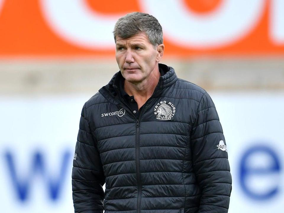 Exeter rugby director Rob Baxter is looking forward to the new season (PA) (PA Wire)