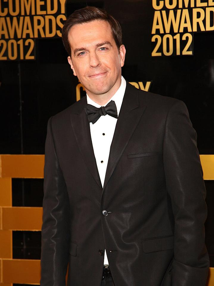 Ed Helms attends The Comedy Awards 2012 at Hammerstein Ballroom on April 28, 2012 in New York City.