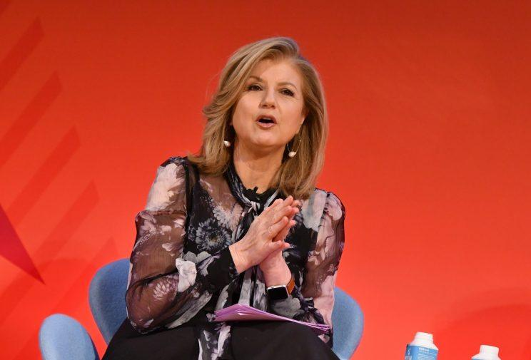 Arianna Huffington speaks onstage during the THRIVE with Arianna Huffington panel at The Town Hall during 2016 Advertising Week New York on September 28, 2016 in New York City. (Photo by Slaven Vlasic/Getty Images for Advertising Week New York)