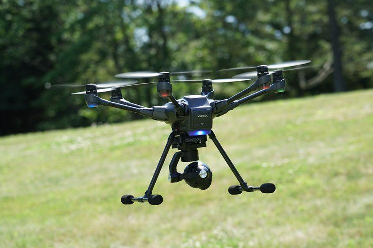 The Yuneec Typhoon H eliminates confusion if your drone has gotten turned around in the sky.