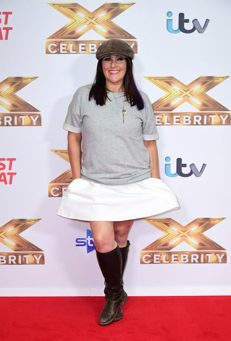 New venture: Lake recently appeared on The X Factor: Celebrity (PA)
