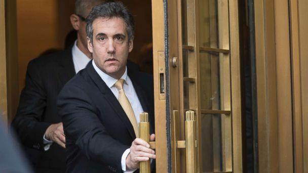 PHOTO: Michael Cohen leaves Federal court, Aug. 21, 2018, in New York City. (Mary Altaffer/AP, FILE)