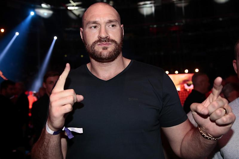 Heavyweight clash | Tyson Fury (pictured) wants to fight Anthony Joshua: Bongarts/Getty Images