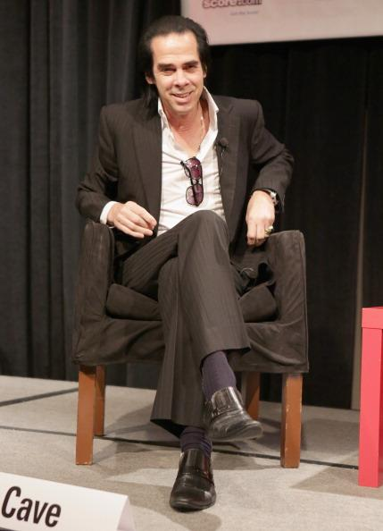 Musician Nick Cave speaks onstage at A Conversation With Nick Cave during the 2013 SXSW Music, Film + Interactive Festival at Austin Convention Center on March 12, 2013 in Austin, Texas.