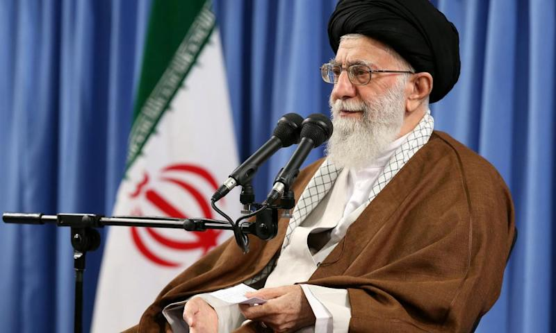 Iran's supreme leader, Ayatollah Ali Khamenei, warned against 'an infiltration' last year.