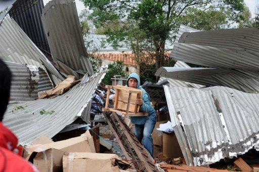 Fierce storms have killed 9 people in Paraguay, Uruguay and Bolivia