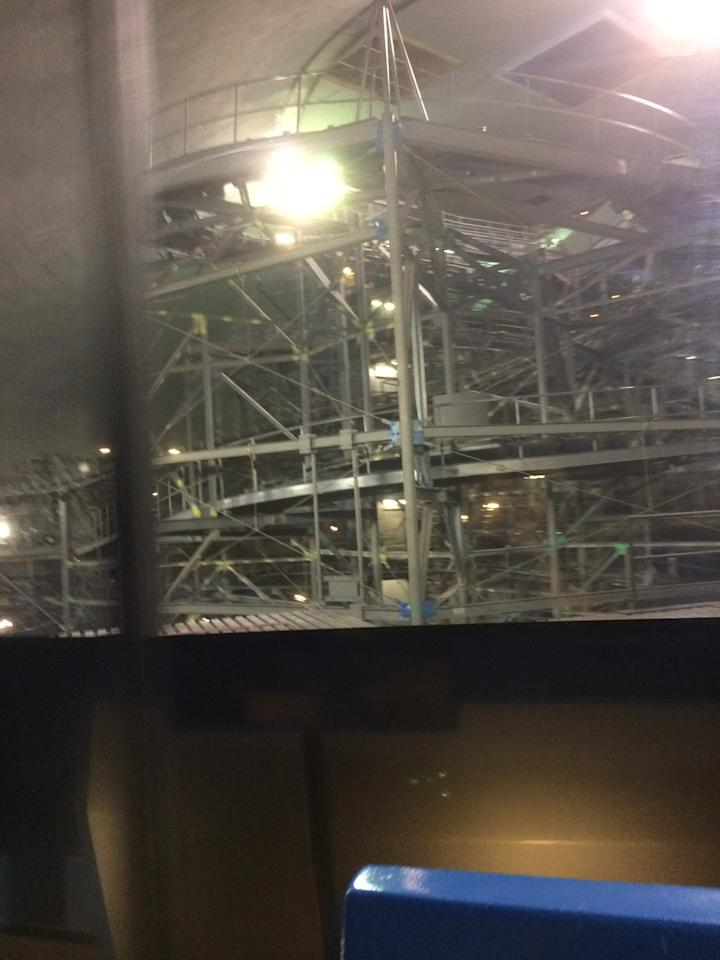 <p>Only at Walt Disney World can you see Space Mountain with the lights on! This is because another attraction, The People Mover, goes right through Space Mountain. If you ever see Space Mountain is temporarily closed, be sure to hop on The People Mover.</p>