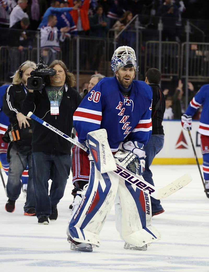 New York Lives The Limit Henrik Lundqvist Leads Rangers To Another