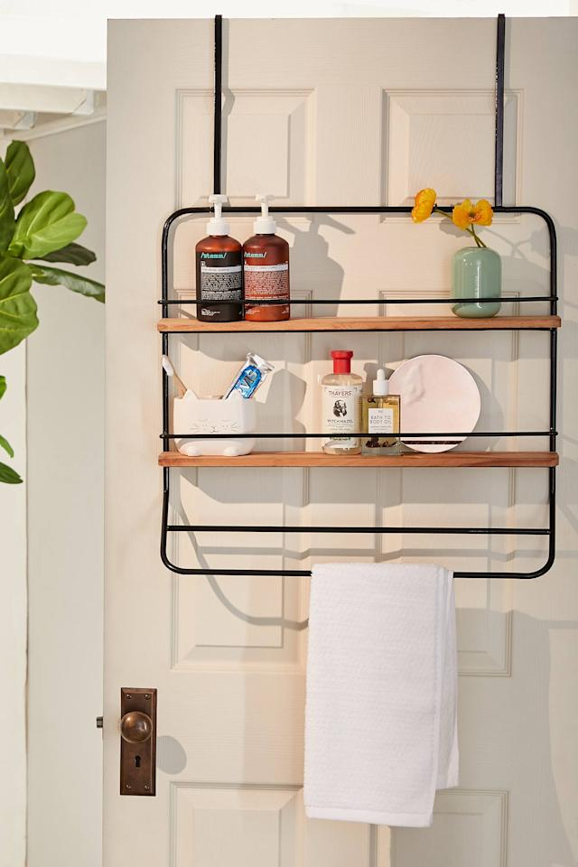 "<p>Store all your favorite products on this <a href=""https://www.popsugar.com/buy/Over--Door-Tiered-Storage-Rack-547511?p_name=Over-the-Door%20Tiered%20Storage%20Rack&retailer=urbanoutfitters.com&pid=547511&price=49&evar1=casa%3Auk&evar9=47189500&evar98=https%3A%2F%2Fwww.popsugar.com%2Fhome%2Fphoto-gallery%2F47189500%2Fimage%2F47190602%2FOver--Door-Tiered-Storage-Rack&list1=shopping%2Csales%2Chome%20decor%2Cfurniture%2Csale%20shopping%2Chome%20shopping&prop13=api&pdata=1"" rel=""nofollow"" data-shoppable-link=""1"" target=""_blank"" class=""ga-track"" data-ga-category=""Related"" data-ga-label=""https://www.urbanoutfitters.com/shop/over-the-door-tiered-storage-rack?category=home-decor-sale&amp;color=001"" data-ga-action=""In-Line Links"">Over-the-Door Tiered Storage Rack</a> ($49, originally $69).</p>"