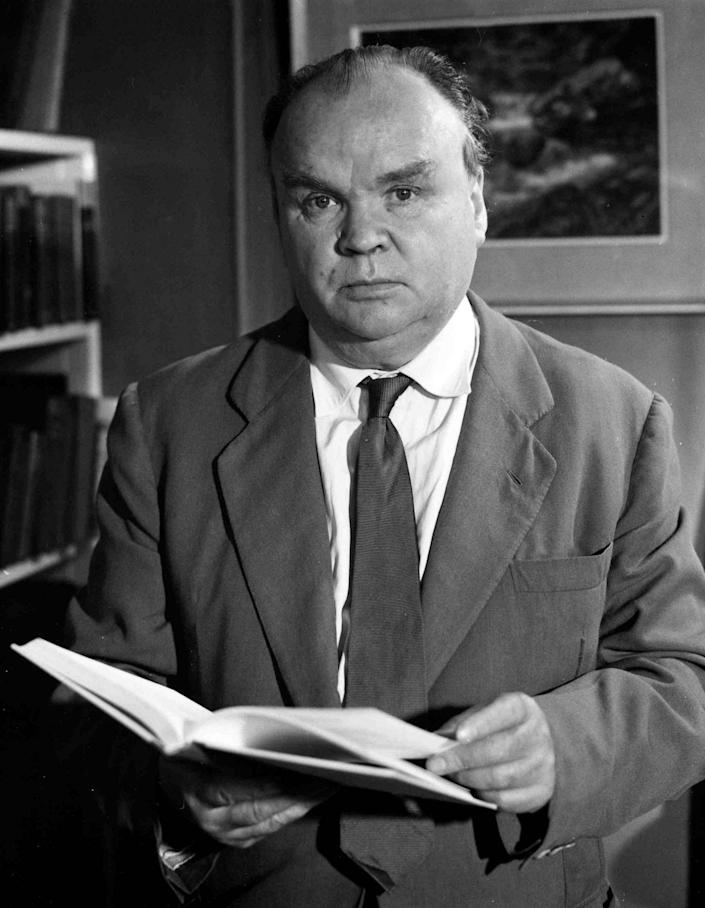 Cyril Connolly in 1962 - Rex Features
