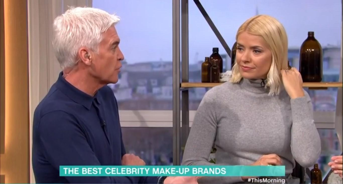 Phillip Schofield said he wouldn't know which Claudia they were taling about (Credit: ITV)